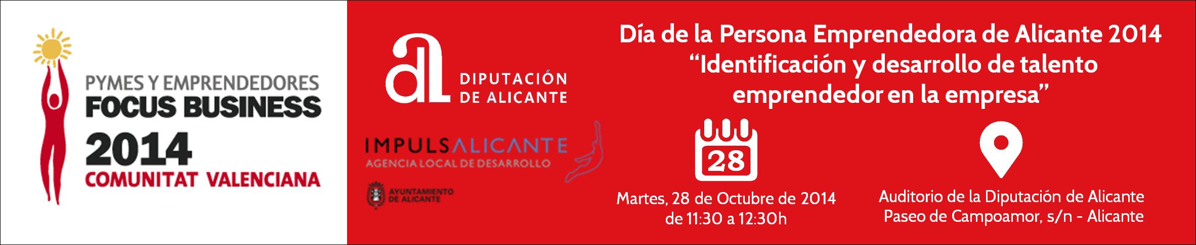 Evento Día de la Persona Emprendedora de Alicante