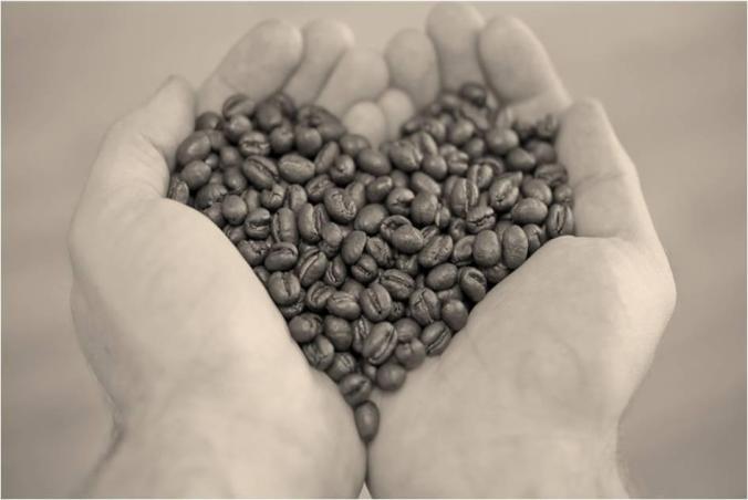 corazón en las manos