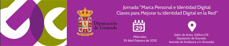 Evento Jornadas Marca Personal Diputación Granada